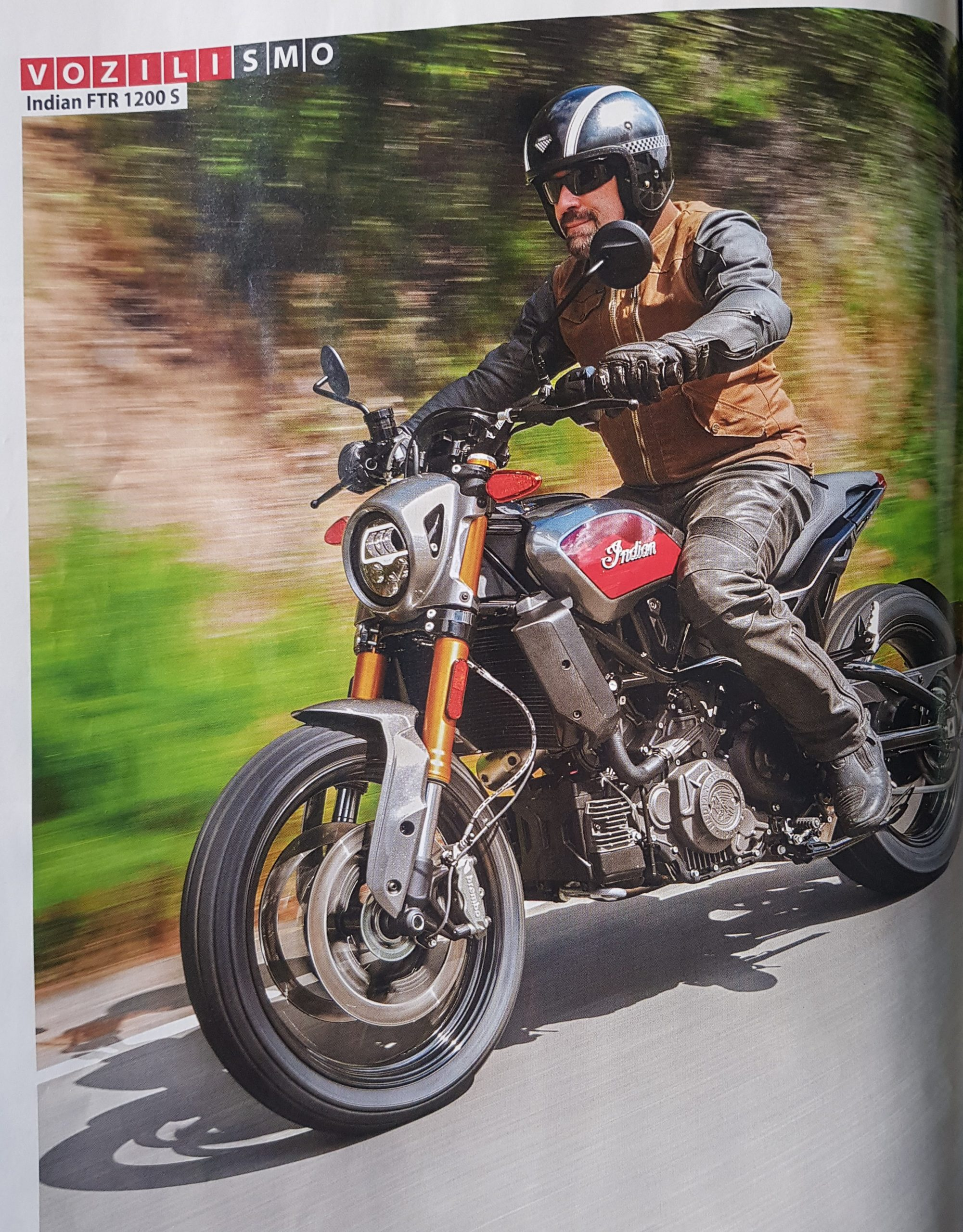 Motorevija: Indian FTR 1200 S